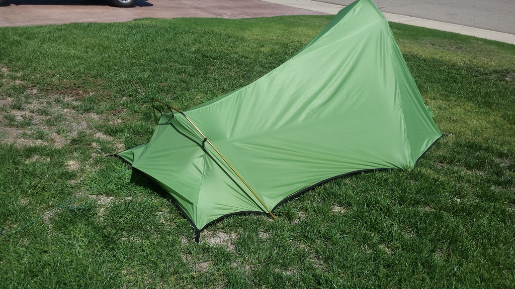 & Customer Project: Backpacker Tent - Ripstop by the Roll