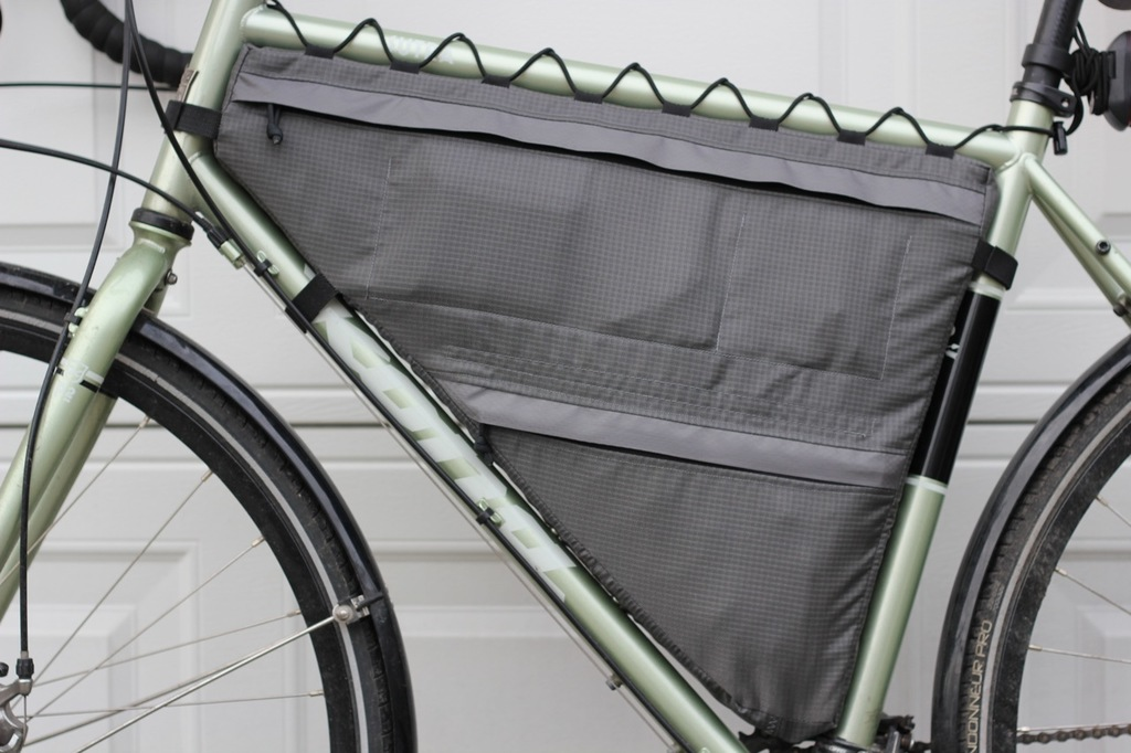 Customer Project: Full and Partial Bike Frame Bags - Ripstop by the Roll