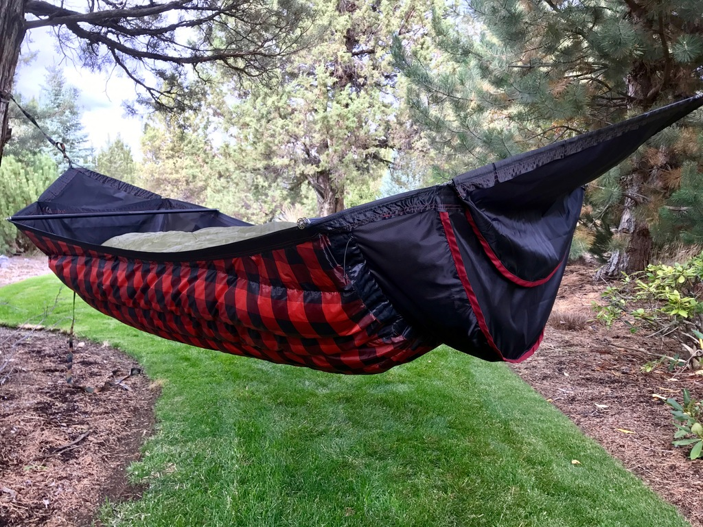 Customer Project: Ariel Black Insulated Hammock