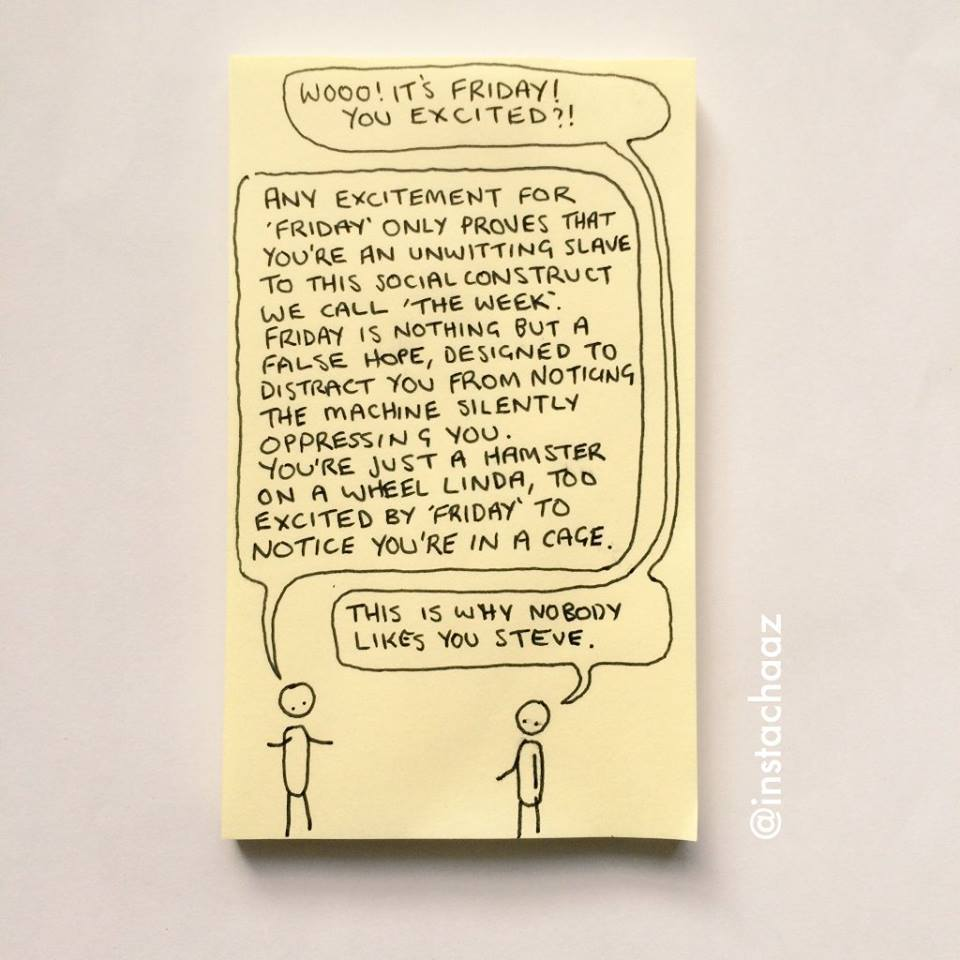 Friday Postit