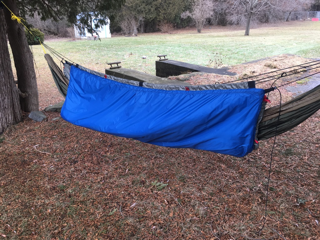 Customer Project: Boxed Underquilt 15F