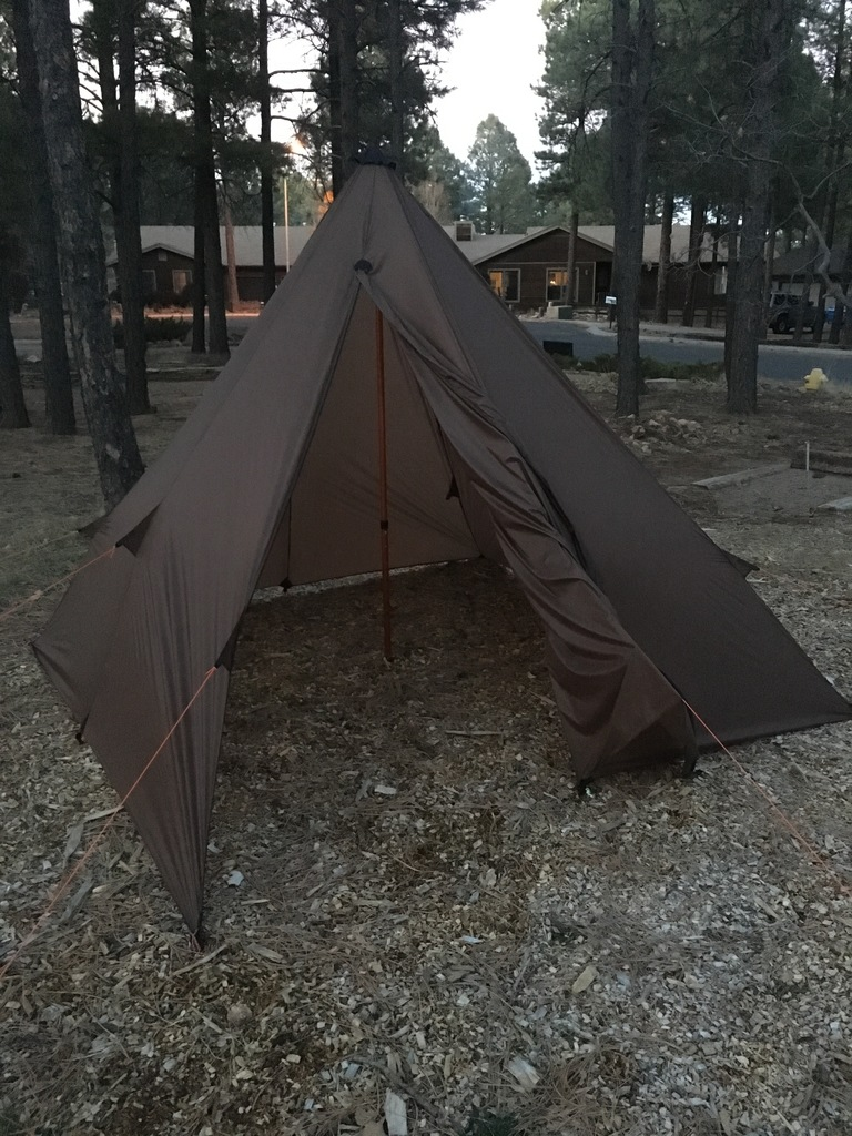 Customer Project: 2-3 Man Tipi