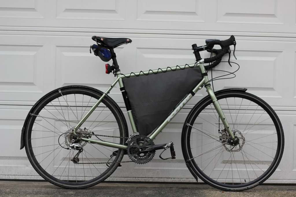 Customer Project: Full and Partial Bike Frame Bags