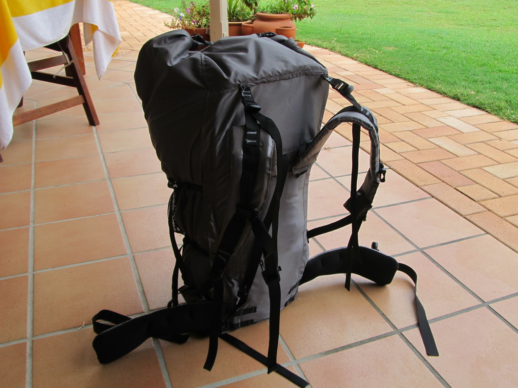 Customer Project: 55litre light framed backpack