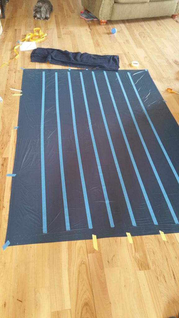 Customer Project: Peter's Membrane 10 Underquilt