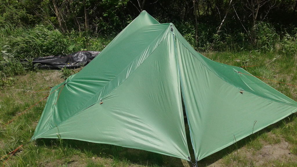 Customer Project: SilPoly Trekking Pole Tent
